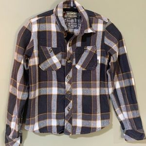 5/15$ Element Long Sleeve Plaid Button up Shirt